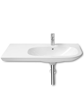 Nexo Asymmetrical Basin With Left Handed Ledge - 327649000