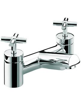 Bristan Quadrant Bath Filler Tap Chrome - QT BF C