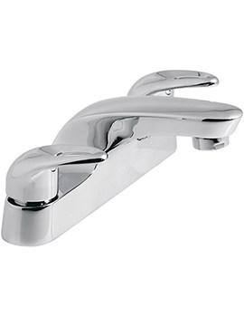 Magma Deck Mounted 2 Hole Bath Filler Tap - MAG-137
