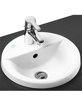 Related Ideal Standard Concept Sphere 380mm 1 Taphole Countertop Basin
