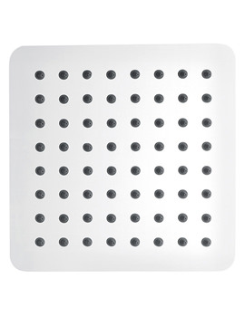 Pura Slimline Stainless Steel Square Shower Head 250mm - KI074A