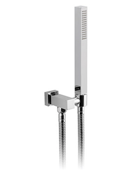 Mix Single Function Mini Shower Kit With Integrated Outlet