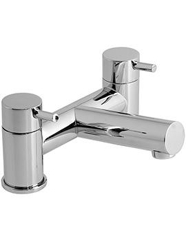 Zoo Deck Mounted 2 Hole Bath Filler Tap - ZOO-137
