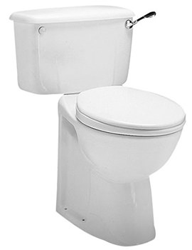 Avalon Close Coupled WC Pan 750mm - AV1168WH
