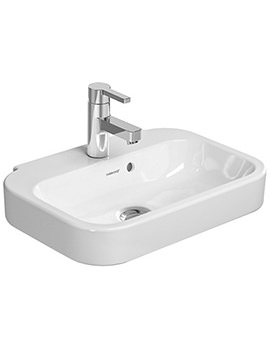 Related Duravit Happy D2 Single Tap Hole 500x360m Handrinse Basin - 0709500000