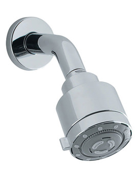 Reflex Low Pressure 4 Mode Shower Head With Arm