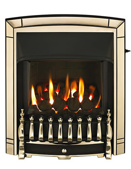 Valor Dream Homeflame HE Slide Control Inset Gas Fire Gold - 0576101