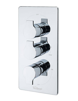 Ora Concealed Thermostatic Valve With 3 Way Diverter
