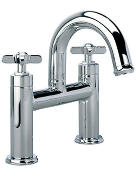 Wessex Deck Mounted Bath Filler Tap Chrome - T663202