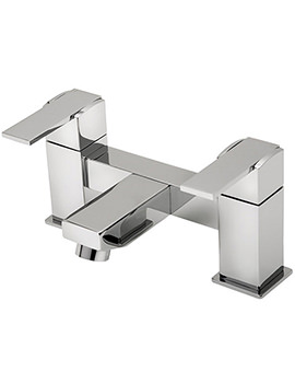 Turn Me On Pillar Mounted Bath Filler Tap Chrome - 22030