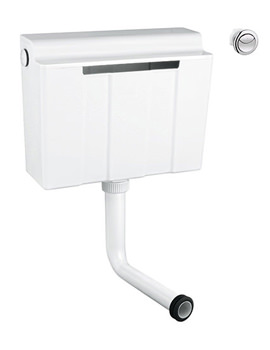 Dual Flush Concealed Cistern - Bottom Supply