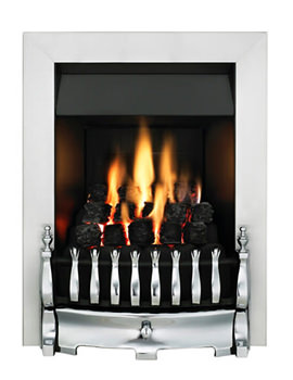Valor Blenheim Slimline Manual Control Inset Gas Fire Chrome