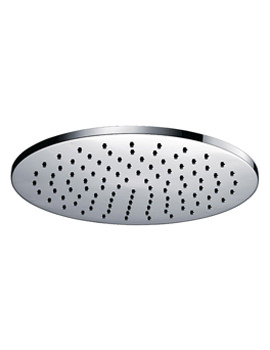 Deluxe Round Brass Shower Head 250mm - KI071A