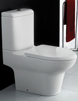 Infinity Close Coupled Full Access WC With Soft Close Seat 695mm