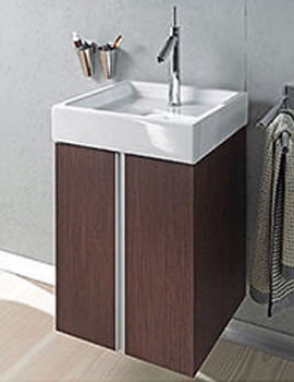 Related Duravit Starck 1 Furniture Washbasin Without Overflow 470mm Oak - 038747