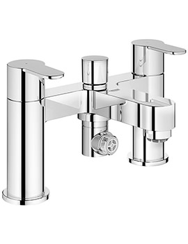 Eurostyle Cosmo Deck Mounted Bath Filler Tap Half Inch