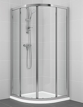 Connect 800 x 800mm Quadrant Shower Enclosure