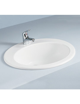 Jessica Over Counter Vanity Bowl 530mm 1 Tap Hole - JESVB1