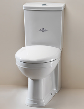 Related Silverdale Damea Close Coupled WC Pan With Cistern And Fittings