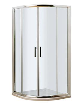Lauren Pacific Quadrant Shower Enclosure 800 x 800mm - AQU8