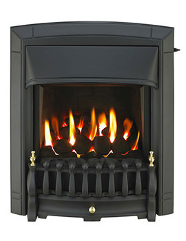 Valor Dream Homeflame HE Slide Control Inset Gas Fire Black - 0576121