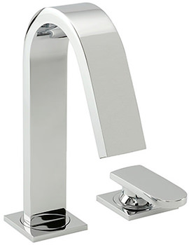 Coast 2 Hole Bath Filler Tap Chrome - 40030