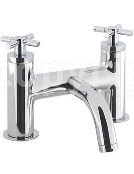 Totti Deck Mounted Bath Filler Tap Chrome - TO322DC