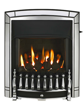 Valor Dream Homeflame HE Slide Control Inset Gas Fire Chrome