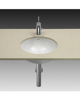 Foro White Under Countertop Basin 410mm Dia - 327884000