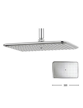 Crosswater Essence 320 x 210mm Rectangular Shower Head - FH321C