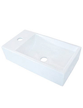 Helios Rectangle Countertop Wash Basin 460mm - BBD Helios 2