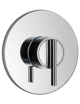 Silver Concentric Thermostatic Built In Valve Chrome - 1.1628.005