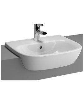 Zentrum 495mm Semi Recessed Basin