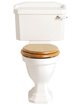 Granley Comfort Height WC And Cistern - PGRWC00-PGRW01F