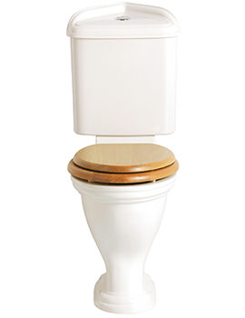 Dorchecter Close Coupled Comfort Height Corner WC And Cistern