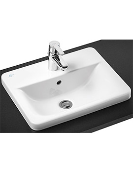Concept Cube 500mm 1 Tap Hole Countertop Basin
