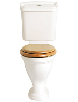 Dorchester Close Coupled Comfort Height WC And Portrait Cistern