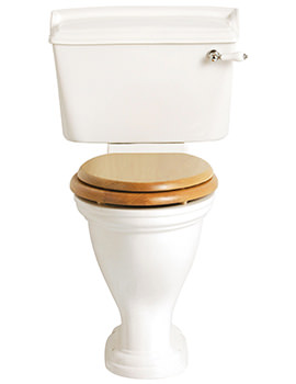 Dorchester Close Coupled Comfort Height WC And Cistern