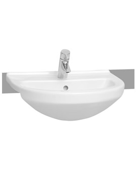 S50 Round Semi Recessed Basin 55cm - 5307B003-0001