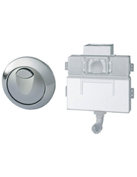 Grohe EAU2 WC Dual Flushing Cistern With Air Button - 38691000
