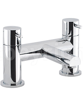 Kai Lever Deck Mounted Bath Filler Tap - KL322DC