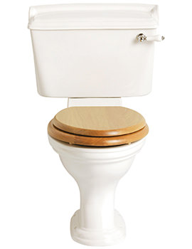 Dorchester Standard Close Coupled WC And Cistern 717mm