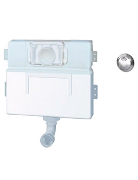 Bath Furniture Cistern Bottom Inlet With Air Button - 116654