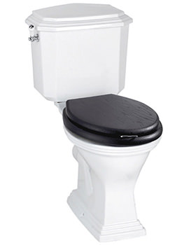 Astoria Deco WC Pan And Closed Coupled Cistern AD1WC01030