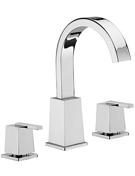 Mr Darcy 3 Hole Bath Filler Tap Chrome - 53040