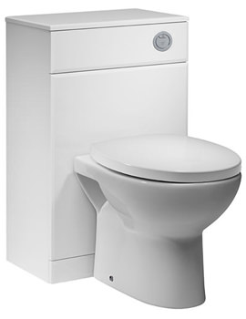 Related Tavistock Meridian 500mm White Back To Wall WC Unit - MBTW50W