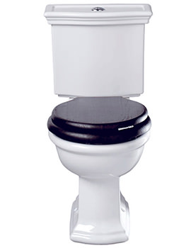 Bergier WC Pan And Close Coupled Cistern -  BE1WC01030