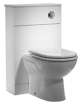 Related Tavistock Opal 500mm Back To Wall WC Unit  And Worktop - OPBTW50W