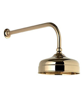 Concealed Fixed Height Shower Drencher Head Gold - 580.04