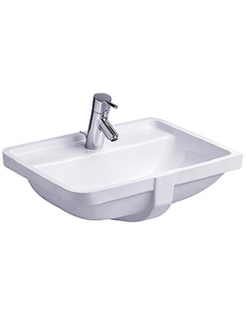Starck 3 Vanity Under counter Basin with Overflow 490mm - 030249